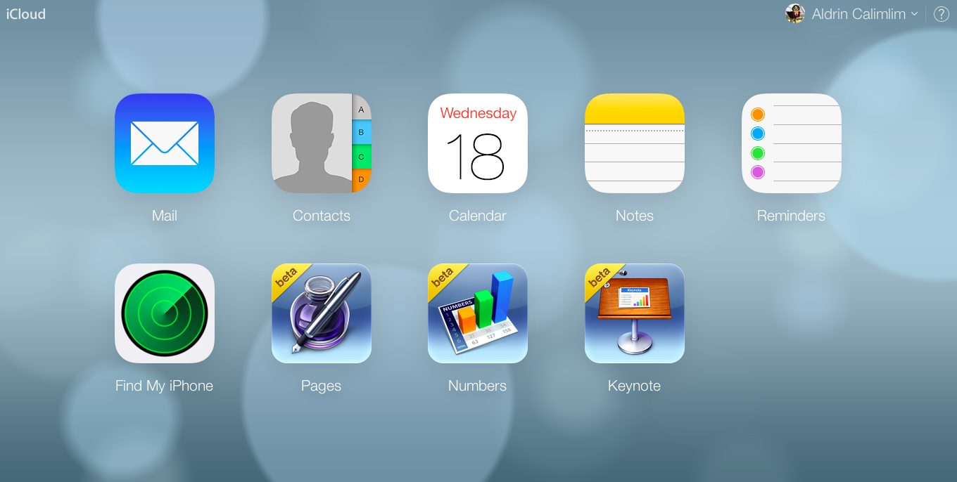 Apple Takes iOS 7-Inspired iCloud Website Redesign Out Of Beta