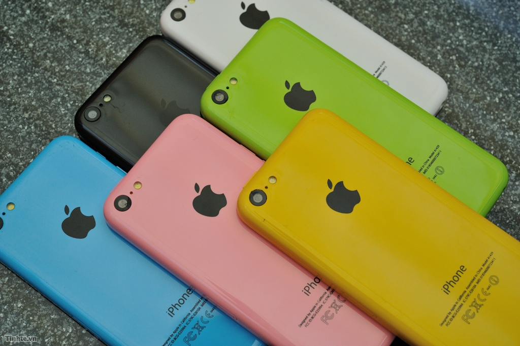 iPhone 5C Dummy Colors