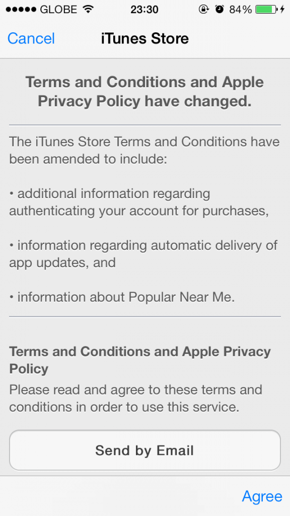 itunes terms and conditions pdf