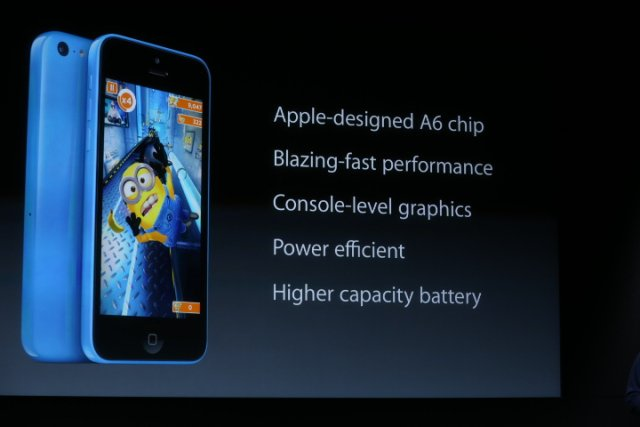 Apple's iPhone 5C Packs The Same A6 Processor Found In The iPhone 5