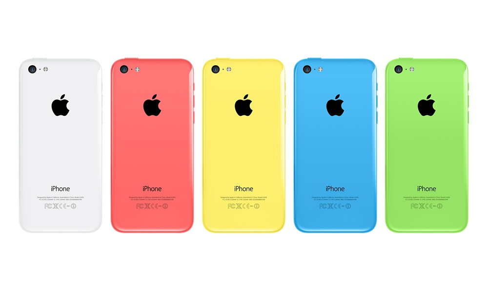 Live Look At iPhone 5c Models Selling Out