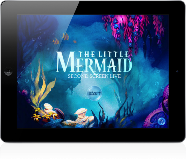 Disney Wants You To Bring Your iPad To 'The Little Mermaid' In Theaters