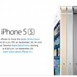 Apple To Accept iPhone 5s Orders Online