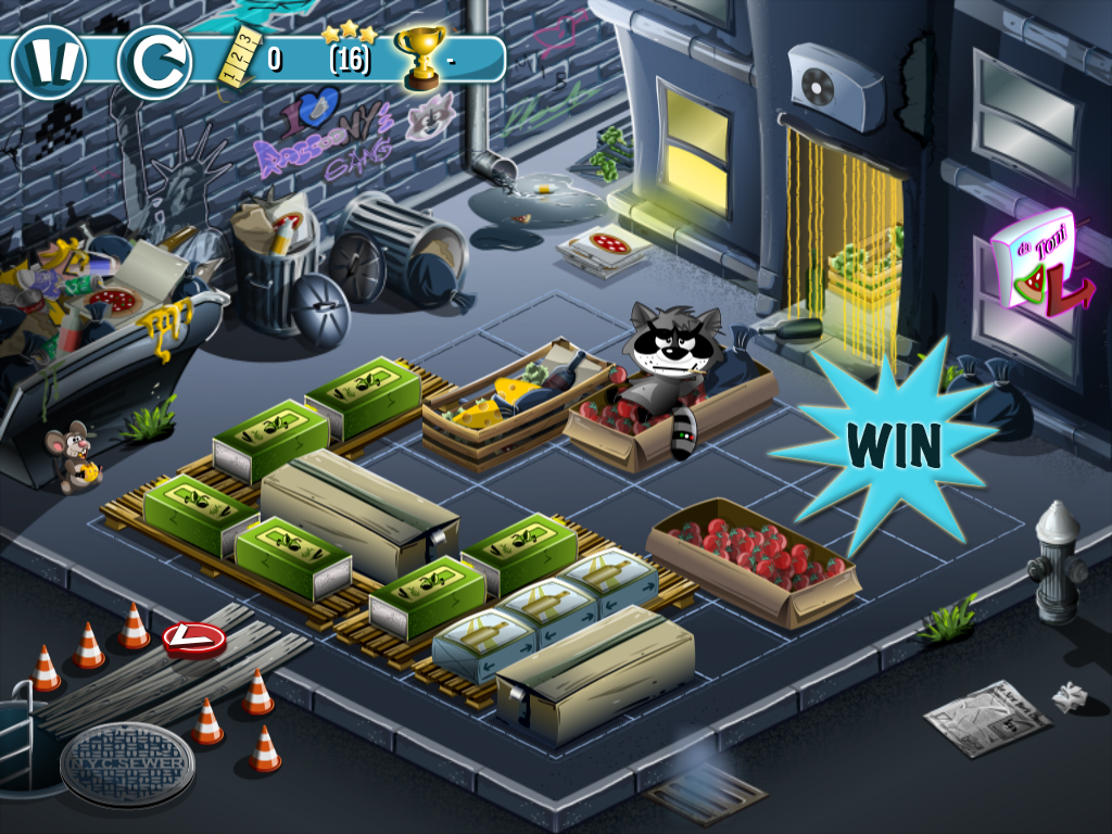 Slide Open The Fun By Winning A Copy Of Raccoony's Gang