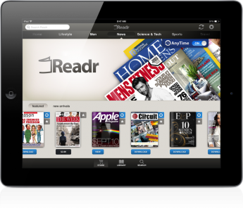 Updated: Should You Find Your Next Issue On Readr's Magazine App For iPad?
