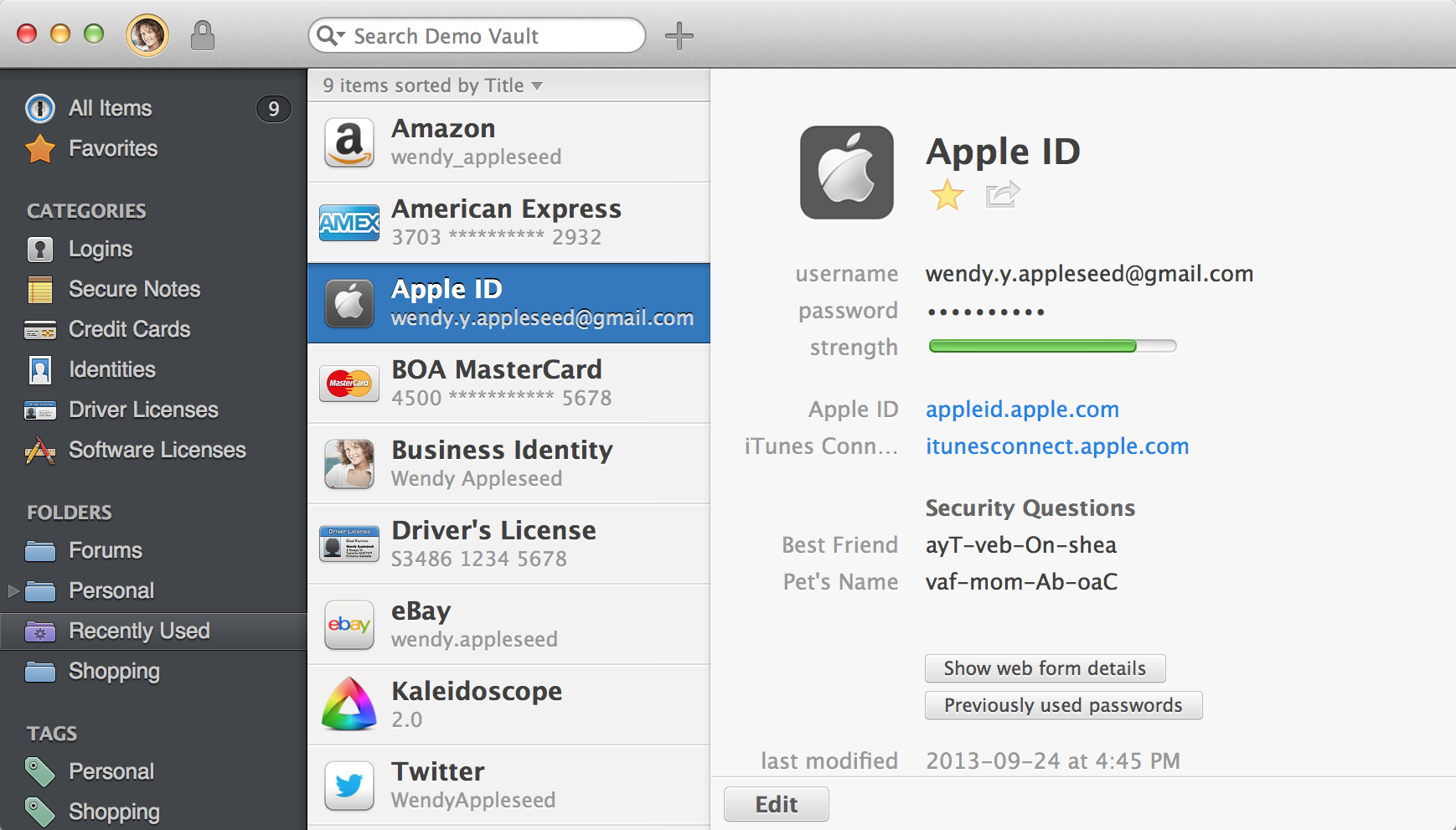 AgileBits' 1Password 4 Is A Winner