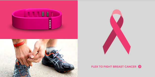 Updated: Fitbit Celebrates Breast Cancer Awareness Month With A Special Edition Pink Flex