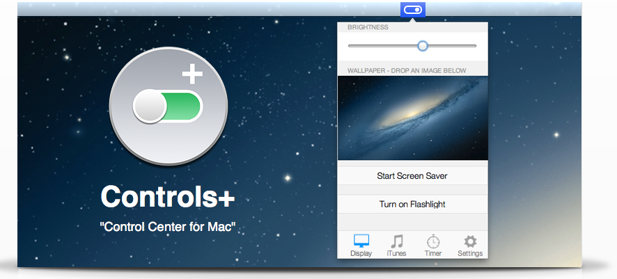 Apple's iOS 7 Control Center Comes To Mac With Controls+