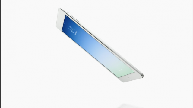 Apple Officially Announces The iPad Air