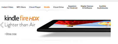 Amazon Hits Apple's Newest iPad With A 'Lighter Than Air' Ad