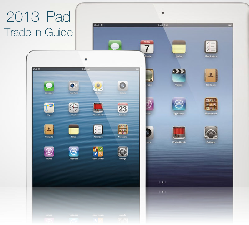 Your 2013 Apple iPad Trade In Guide