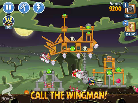 The Zombie Bad Piggies Shall Rise In Angry Birds Friends' Halloween Tournament