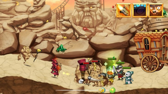 Band Of Heroes Is A Casual RPG Involving Adventure And Strategy