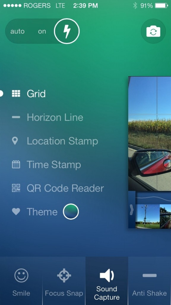 Cam 7 Is A Simple Gesture-Driven Photo Shooter With Advanced Functions