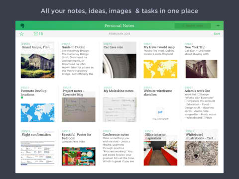 Evernote 7.1 Adds New Places Feature, Saved Search Improvements And More