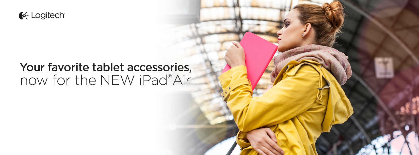 Logitech Announces Four New Accessories For Apple's iPad Air