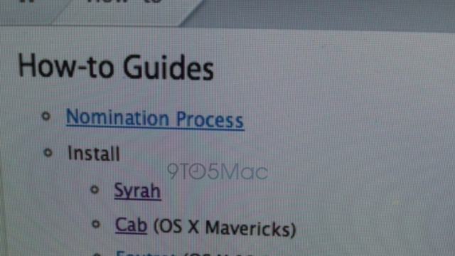 Apple Now Releasing Nightly Builds Of OS X 'Syrah' To Its Employees