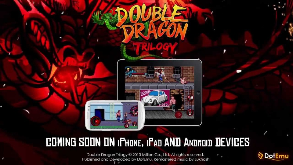 DotEmu Bringing Double Dragon Trilogy To iOS Later This Year