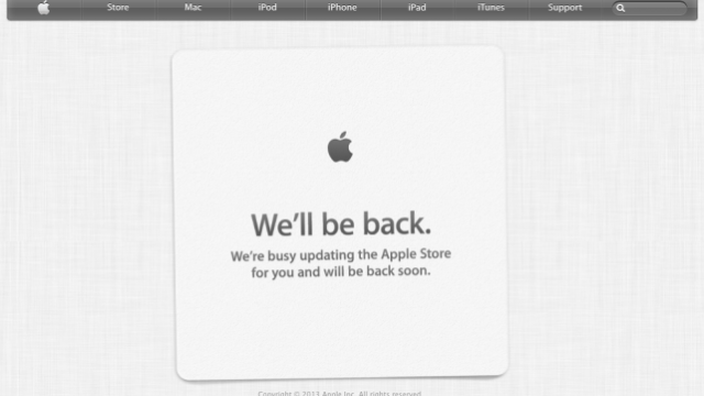 Apple's iCloud Out For Many Users, Online Store Suffers Scheduled Downtime