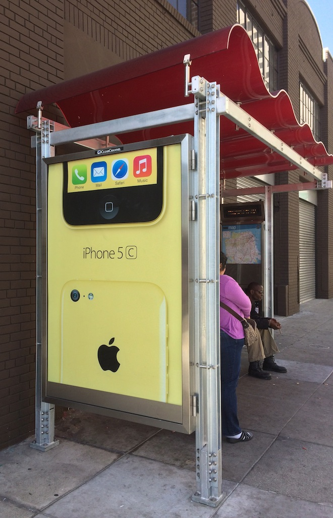 Apple's Latest Billboard Campaign Focuses On Its Colorful iPhone 5c