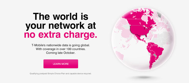 T-Mobile To Offer Global Data Plans Supporting 100+ Different Countries