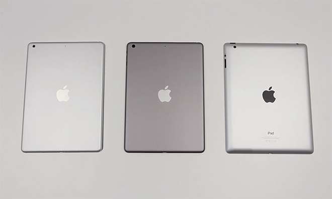 Could This Be Apple's Black Bezel, Space Gray iPad 5?
