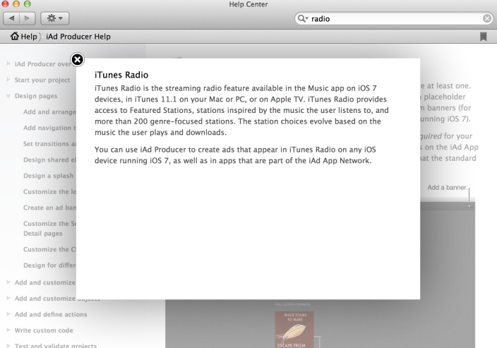 Apple Updates iAd Producer, Adds iTunes Radio Ad Creation Option