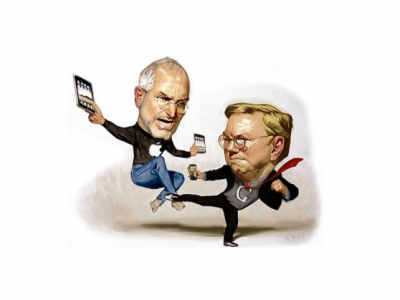 Google's Eric Schmidt Claims Android Is 'More Secure Than The iPhone'