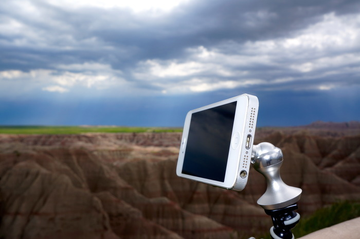 Impressive eleMount iDevice Stand: Back Now, Before It's Too Late