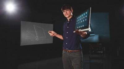 Ashton Kutcher Joins Lenovo, Helps To 'Engineer' The iPad-Competing Yoga Tablet
