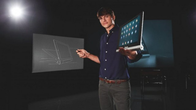 Ashton Kutcher Joins Lenovo, Helps To 'Engineer' The iPad-Competing Yoga Tablet