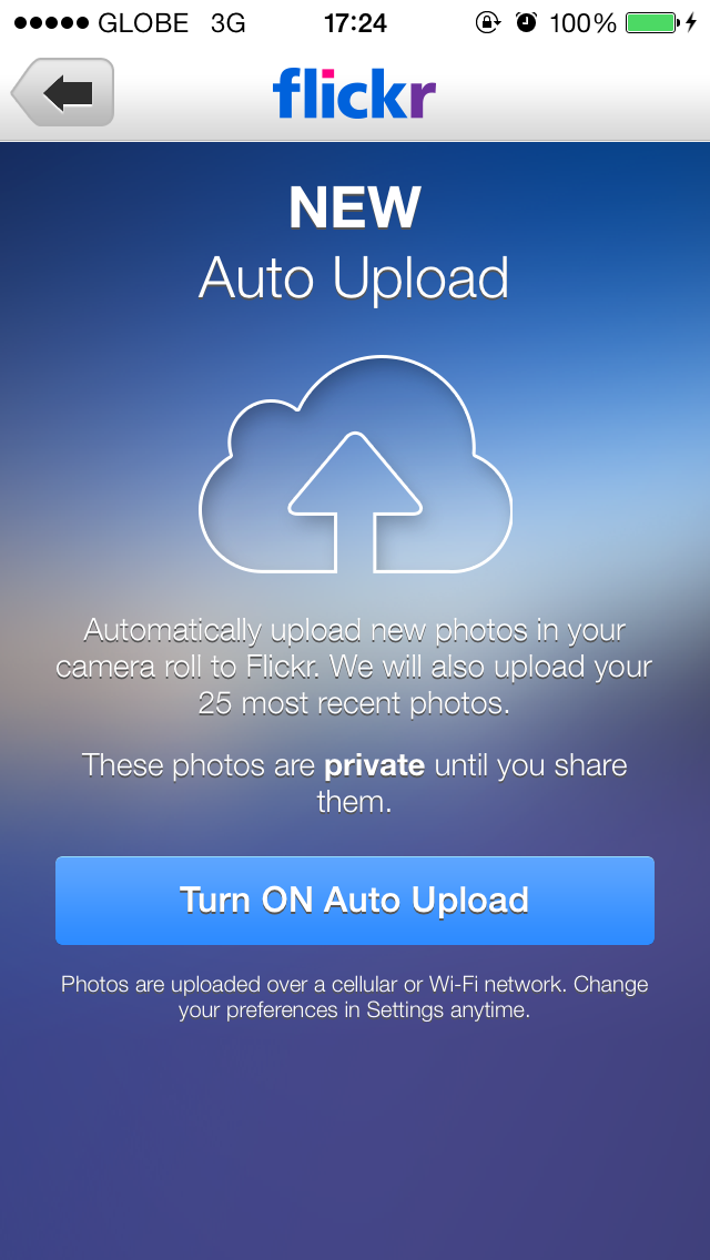 Yahoo Updates Flickr For iOS With Auto Upload And Auto Straighten Features