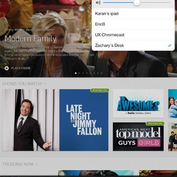 Hulu Plus App For iOS Updated With Support For Google Chromecast On iPad