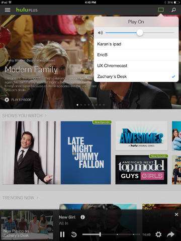 Hulu Plus App For iOS Updated With Support For Google