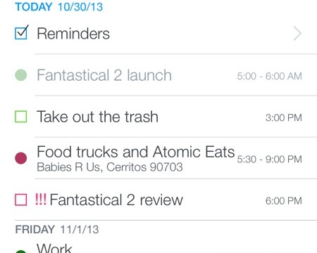 Fantastical 2 Brings A Fantastic Calendar Experience To iOS 7