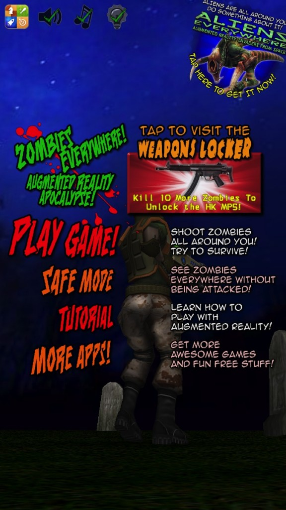 Quirky App Of The Day: Experience Augmented Reality In Zombies Everywhere