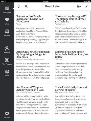 Popular Read-Later App Instapaper Now Supports Background App Refresh
