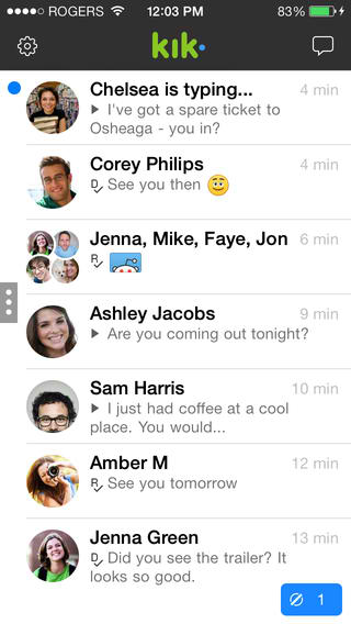 Kik Messenger Gets New iOS 7 Redesign, Gains New 'My Little Pony' Sticker Pack