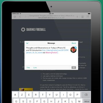 Twitter And App.net Link-Posting App Linky Updated To Version 3.0 For iOS 7