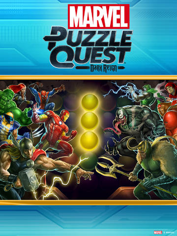 Match-3 Strategy Gaming Gets Supercharged In Marvel Puzzle Quest: Dark Reign