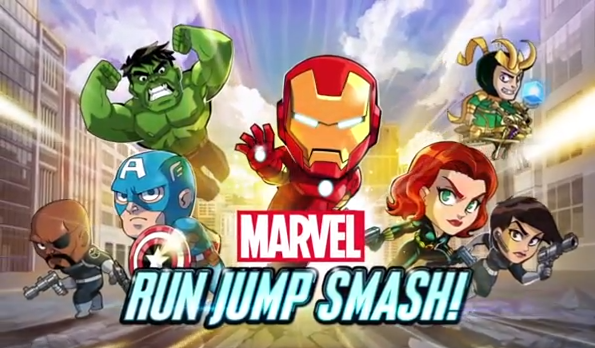 Assemble Your Heroes For The Upcoming Global Release Of Marvel Run Jump Smash!