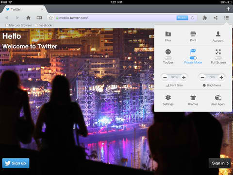 Mercury Browser Pro 8.0 Introduces Mercury Connect For Syncing Bookmarks