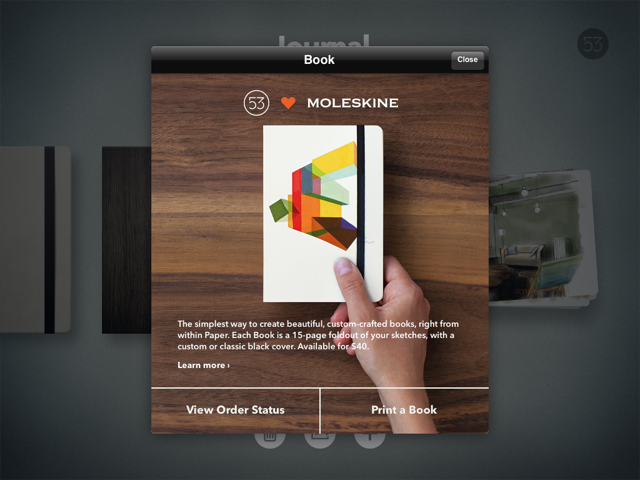 FiftyThree Partners With Moleskine To Turn Your Paper iPad App Journals Into Books