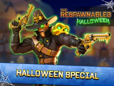 Zynga Updates Action Shooter Respawnables With New Halloween-Themed Content