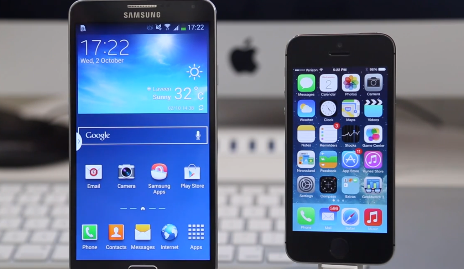 Benchmark Battle: iPhone 5s Versus Galaxy Note 3