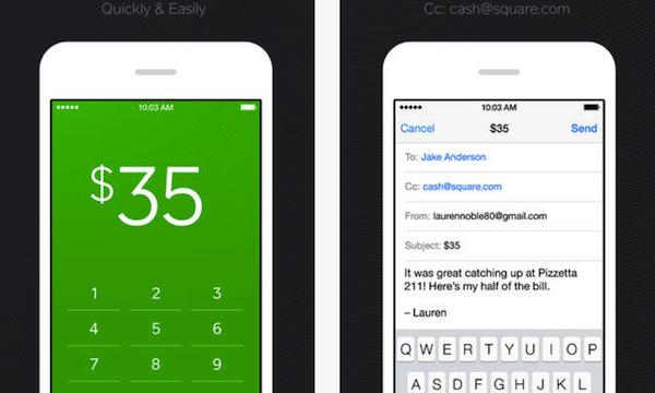 Send Money To Your Friends Via Email With Square Cash