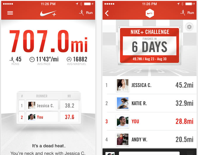 Nike+ Running Updated To Add Photos On The Run, Auto-Pause