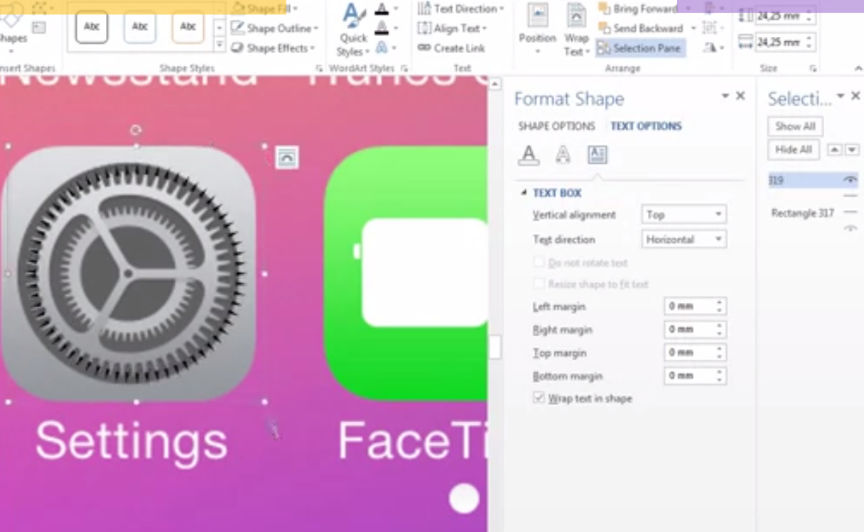 New Video Proves That iOS 7 Could Have Been Designed In Microsoft Word