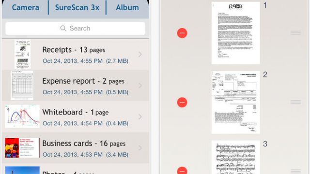 TurboScan Gets A New Look For Apple's iOS 7, Plus Other Enhancements