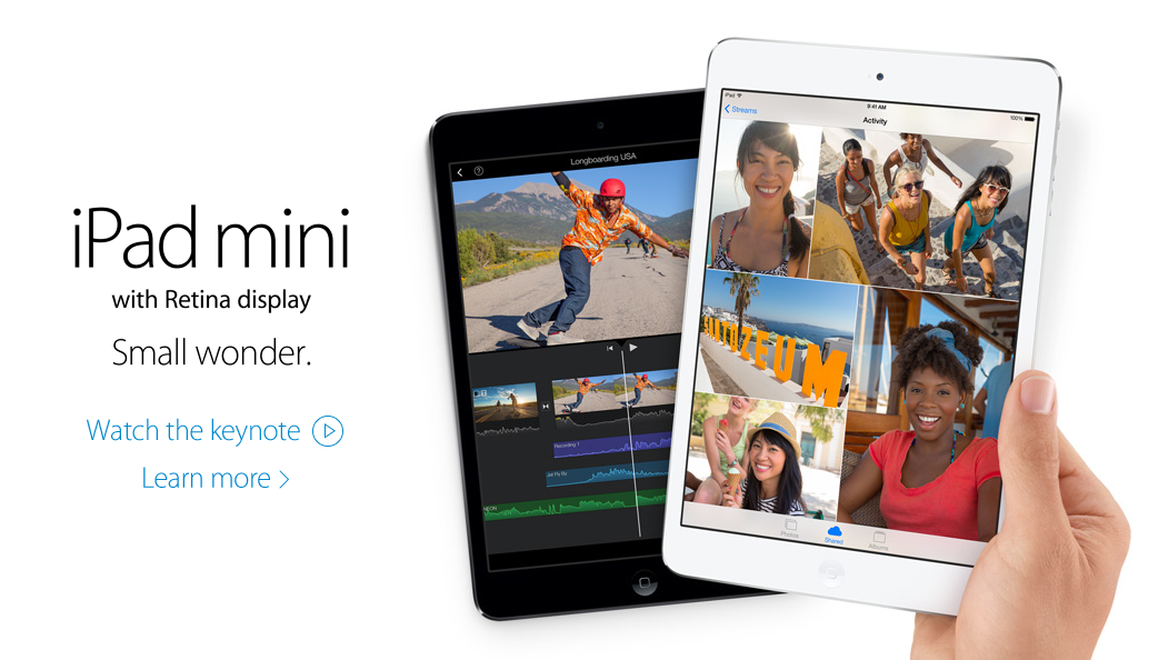 Following Supply Concerns, Target Listing Shows Nov. 21 Launch For New iPad mini